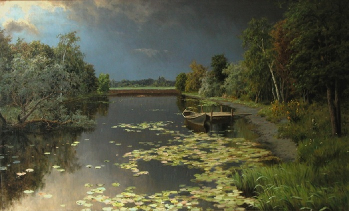 На пруду. 1906, Киселев А.