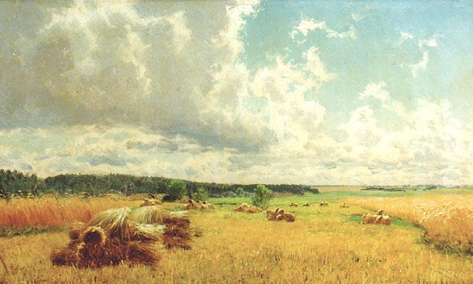 Снопы в поле 1891, Киселев А.
