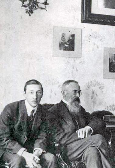 Стравинский и Римский-Корсаков