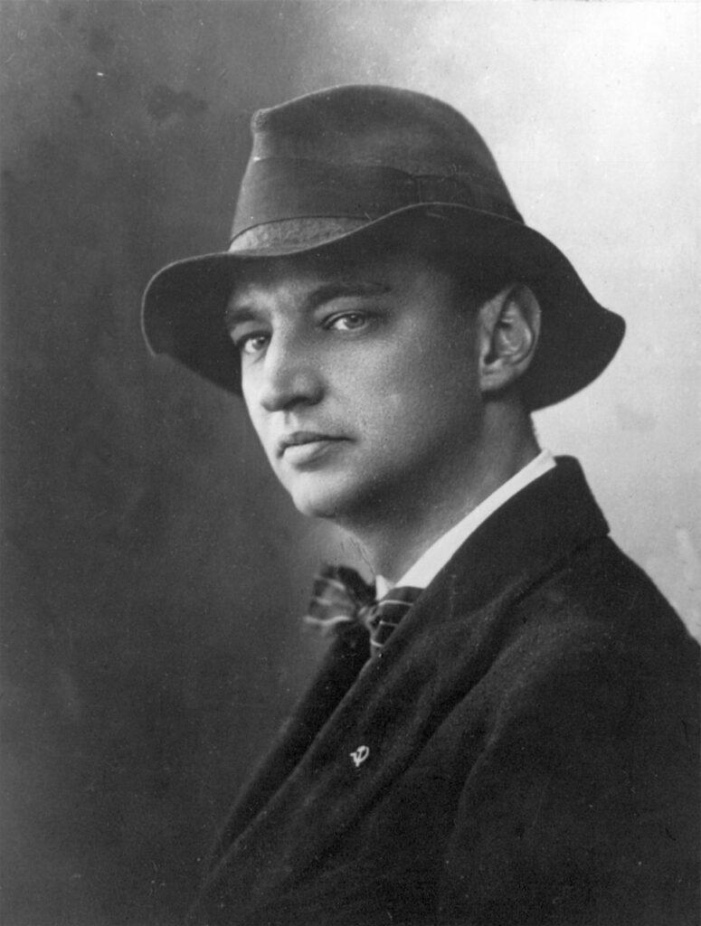 Николай Пунин, муж Ахматовой, искусствовед