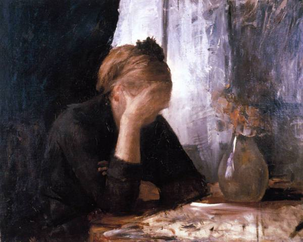 М. Башкирцева, Отчаяние, 1882