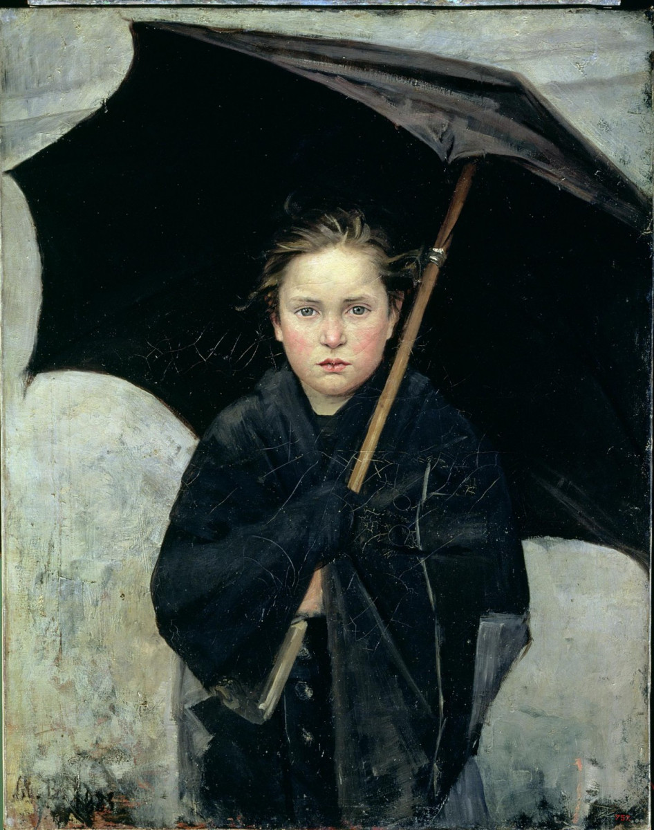 Башкирцева М. Зонтик. 1883