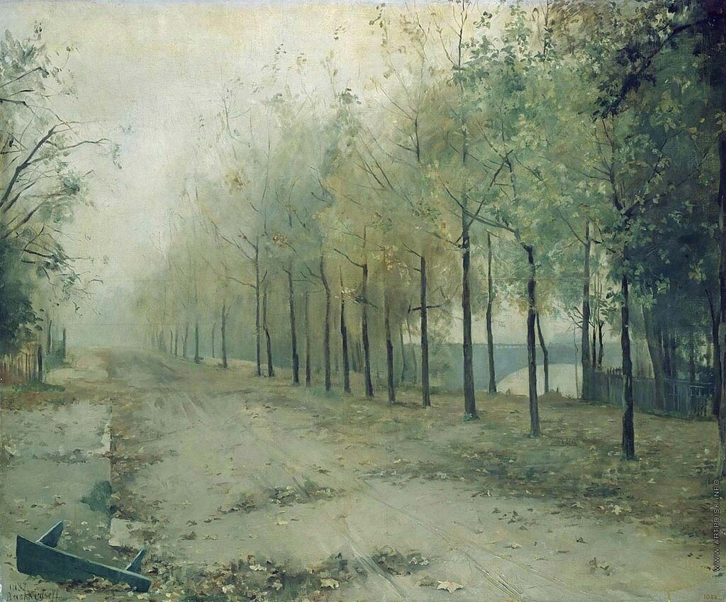"""Башкирцева М., """"Осень"""", 1884"""
