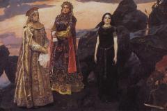 Васнецов В., Три царевны подземного царства