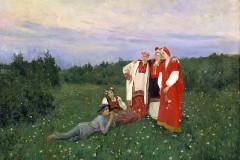 Коровин К. А., Северная идиллия.