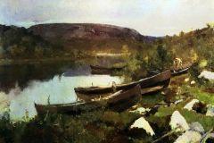 Коровин К. А., Ручей Святого Трифона в Печенге.