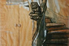 Якунчикова-Вебер М. В., Старая лестница в Сен-Мишель
