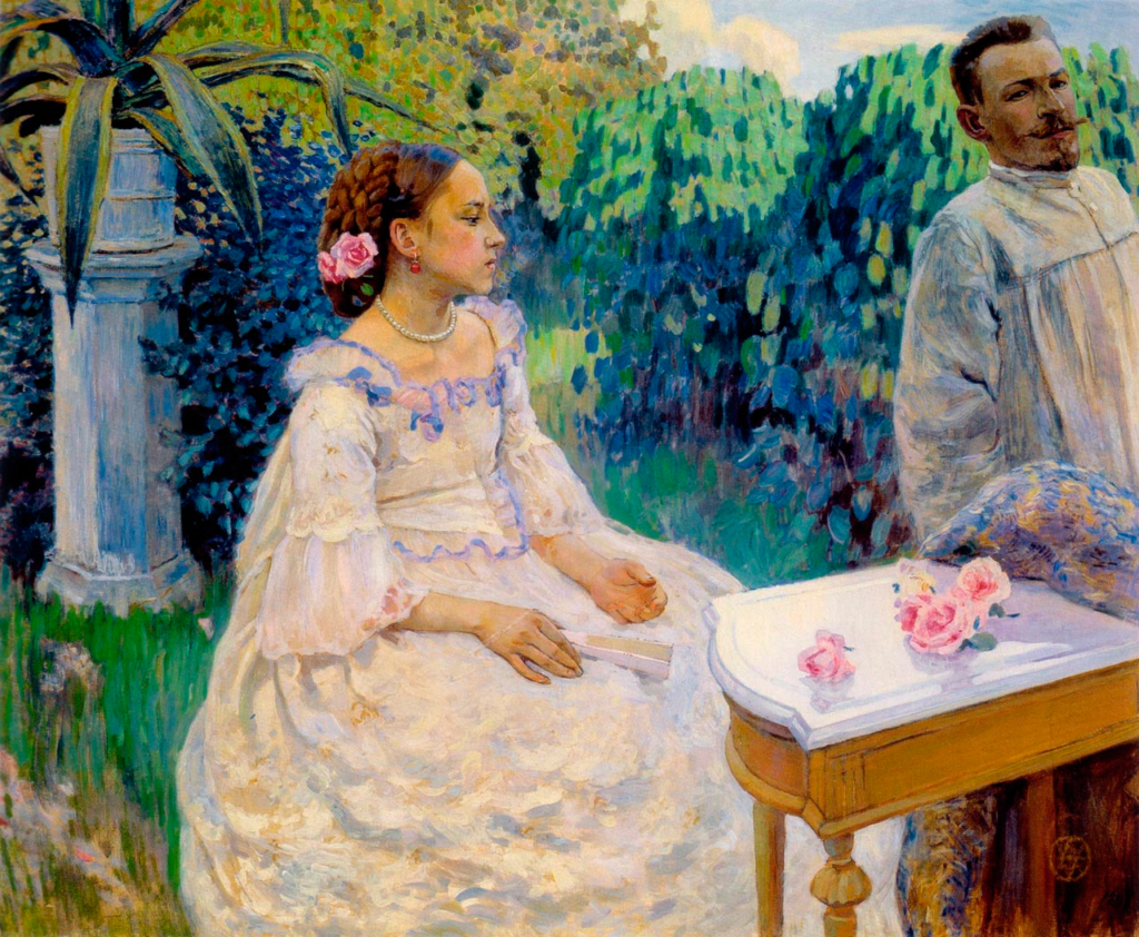 Виктор Борисов-Мусатов (1870-1905), Саратов-Таруса