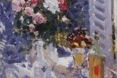 Коровин К. А., Цветы и фрукты