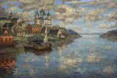 Горбатов К. И., «Вид с реки на старый город»,