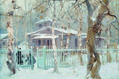 Колесников С. Ф., Зимний пейзаж
