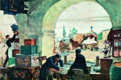 Борис Кустодиев. Гостиный двор