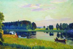 Борис Кустодиев. Конкола. Финляндия.