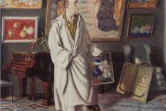 Борис Кустодиев. Портрет Ф.Ф. Нотгафта