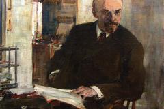 Фешин Николай Иванович. Портрет В.И. Ленина.