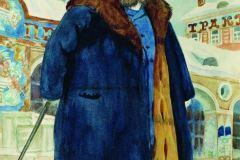 Борис Кустодиев. Купец.