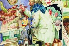 Борис Кустодиев. Живописец вывесок.