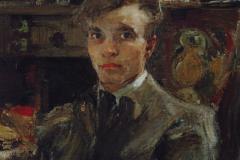 Фешин Николай Иванович. Автопортрет.