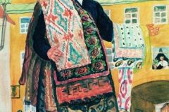 Борис Кустодиев. Продавец ковров (Татарин).