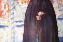 Борис Кустодиев. Монахиня.