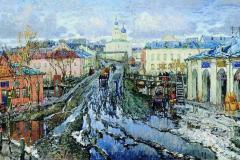 Горбатов К. И., «Улица провинциального города»,