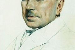 Борис Кустодиев. Портрет И.М. Маркова.