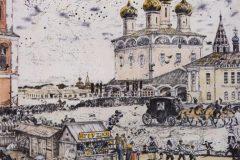 Борис Кустодиев. Архиерей.