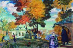 Борис Кустодиев. Осень.