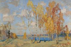 Горбатов К. И., Осенний пейзаж
