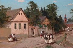 Колесников С. Ф., Деревенская сцена