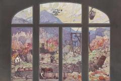 Колесников С. Ф., Вид на шахты горы Ртань