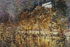 Коровин К. А. Париж.