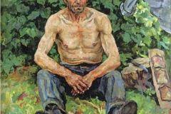 Петр Кончаловский. Портрет Кротолова