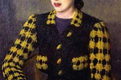 Лебедев В. Женский портрет. 1941