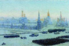 Константин Юон. Утро Москвы.