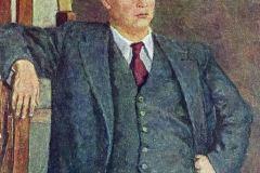 Петр Кончаловский. Портрет кинорежиссера Александра Петровича Довженко.