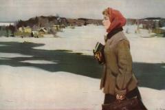 Раздрогин И., Сельская учительница