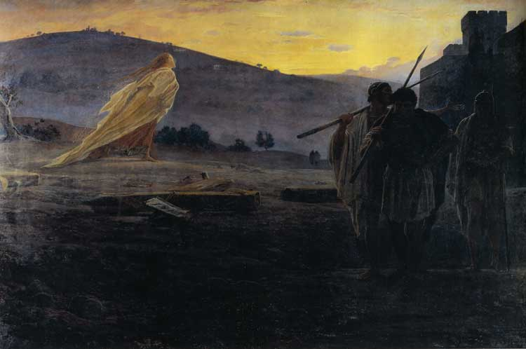 картина Ге, Вестники Воскресения,1867