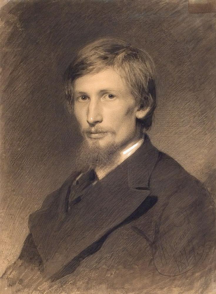 Портрет художника Виктора Михайловича Васнецова,, 1874