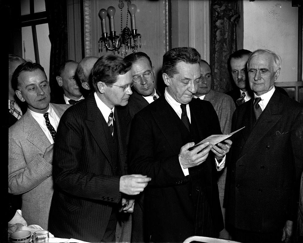 Керенский в 1938 году
