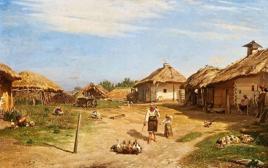 """Суходольский """"Украинская деревня"""""""