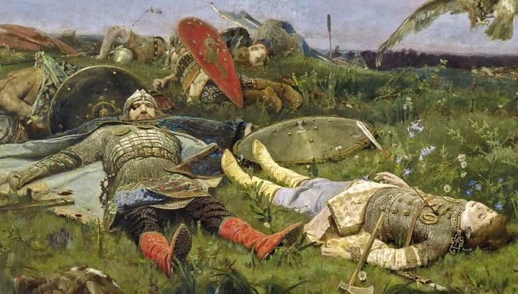 «После побоища Игоря Святославича с половцами», Васнецов