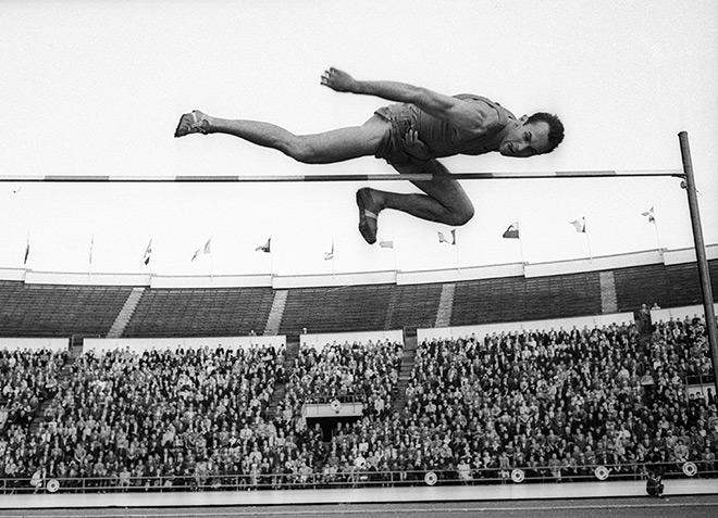 прыжок легендарного Брумеля