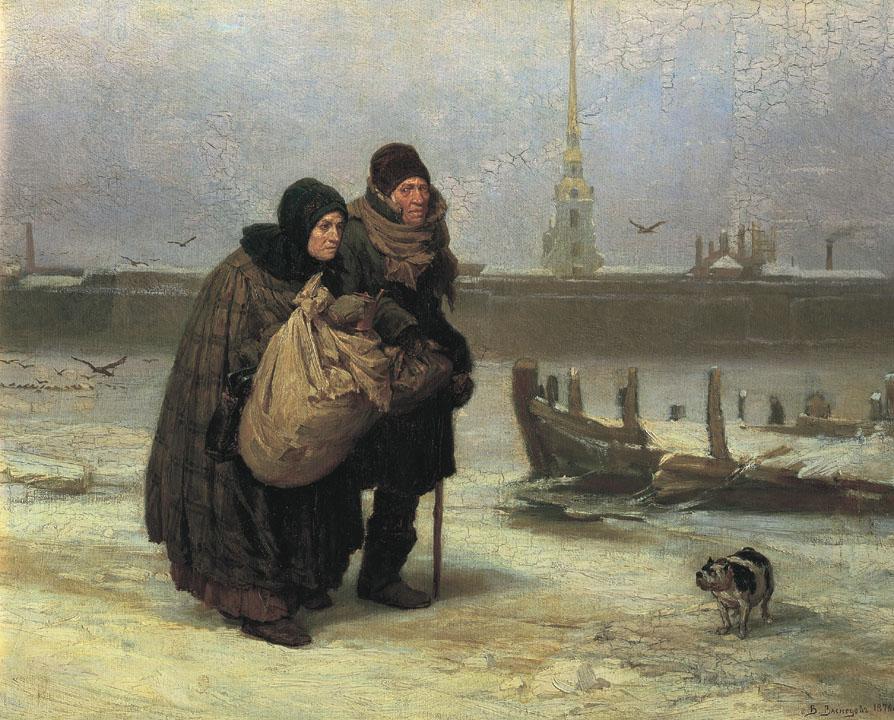 С квартиры на квартиру, Васнецов