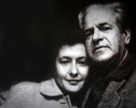 Друнина и Каплер семейная пара