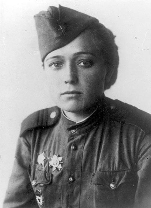 Друнина Юлия в годы войны