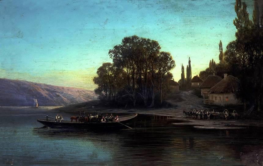 Суходольский, Ночной пейзаж