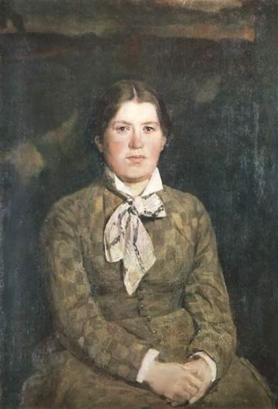 Портрет жены художника, Васнецов