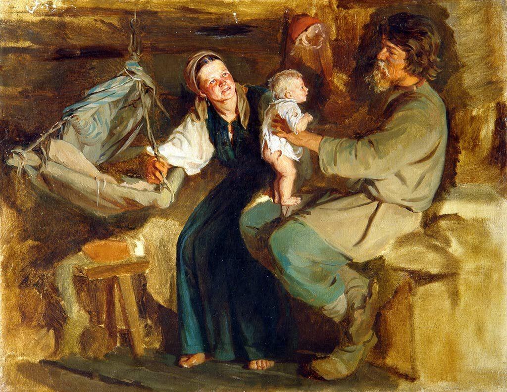 «Родительская радость», (ранее 1910), Лемох