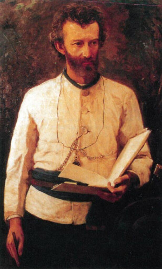 портрет Миклухо-Маклая